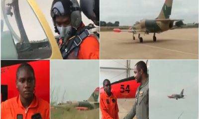 Image of the woman who flies Aircraft in Kano, Nigeria