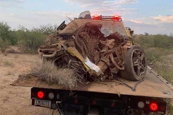 The Site Of This Destroyed Chevrolet Corvette C8 Is Terrible