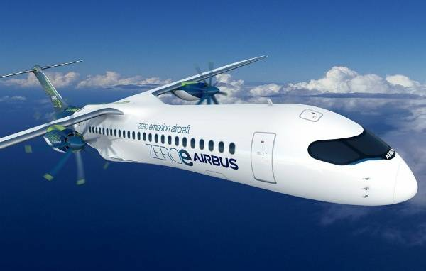 airbus-zero-emission-hydrogen-hybrid-zero-e-aircrafts