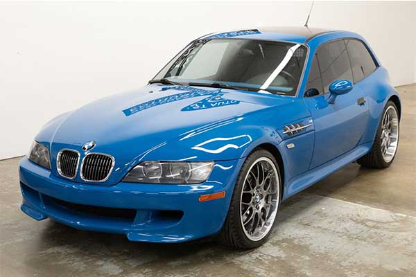 Rare 2002 BMW Z3M Coupe Is Going For A Whopping ₦25m