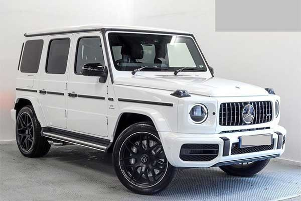 Bobrisky Adds A Mercedes-Benz G63 AMG To His Fleets Of Cars