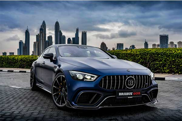 Cant Wait For The Mercedes-Benz GT73 Hybrid? Brabus Has A Solution