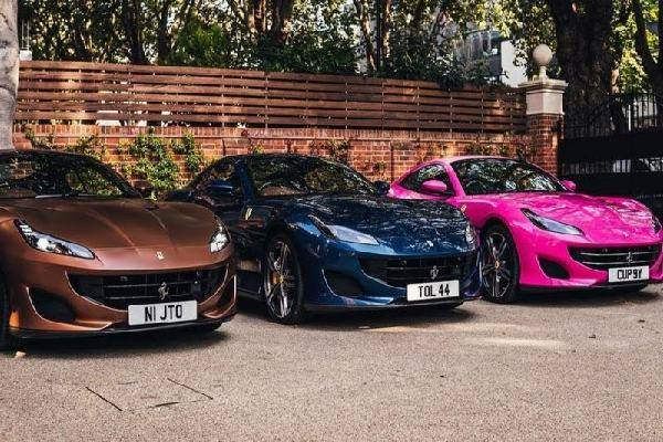 Top Nigerian celebrities reacts to Otedola buying of three Ferraris for his three daughters