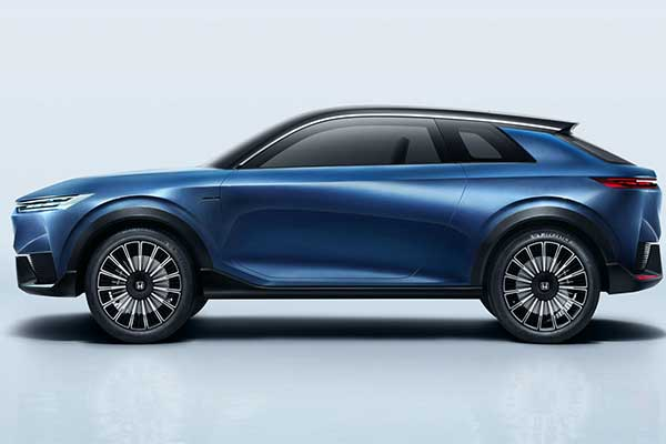 Honda Showcases Its New e-concept Electric SUV Concept