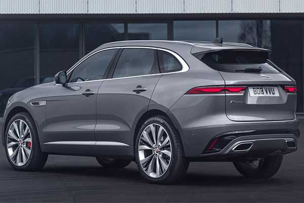Jaguar Updates The F-Pace SUV For 2021 With New Technology