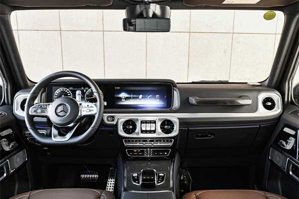Mercedes-Benz Introduces A 4-Cylinder G350 G-Wagon For China