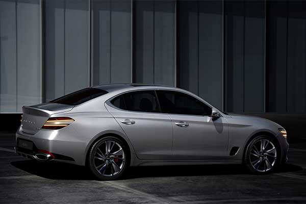 Genesis Unleashes The Facelifted 2022 G70 Sports Sedan