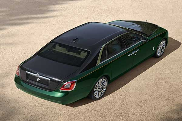 Extended Version Of The 2021 Rolls Royce Ghost Released