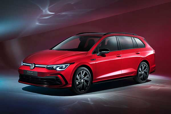 VW Launches The 2021 Golf Variant (Wagon) And It Looks Sporty