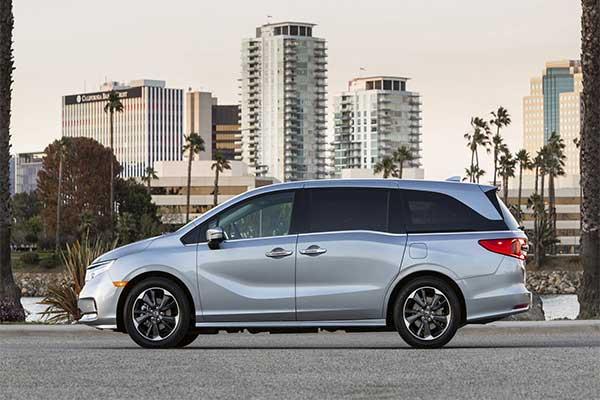 2021 Honda Odyssey Tagged As The Safest Minivan On The Market