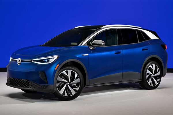 VW Launches Electric ID.4 Crossover With An Impressive 250mile Range