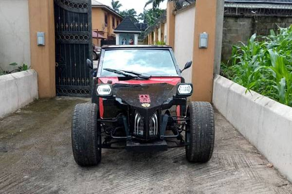 Made-In-Nigeria Car, IYI Celebrity Is A Celebrity On Wheels