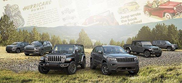 Jeep 80th Anniversary: All 2021 Jeep Purchases Now Gets Three Years Of Free Maintenance