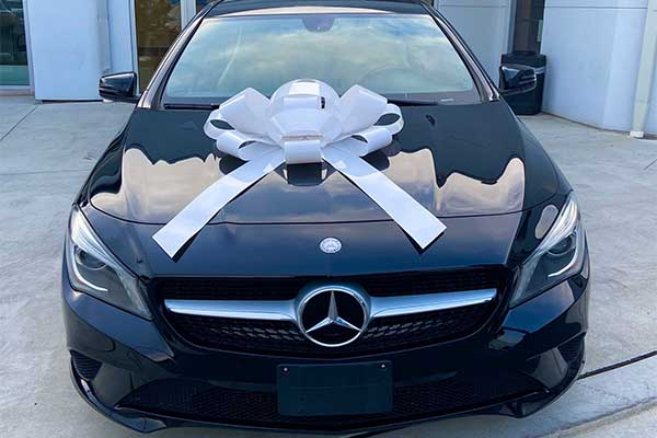 Nigerian Man Buys Mercedes-Benz CLA A Week After Predicting He Would Own A Car