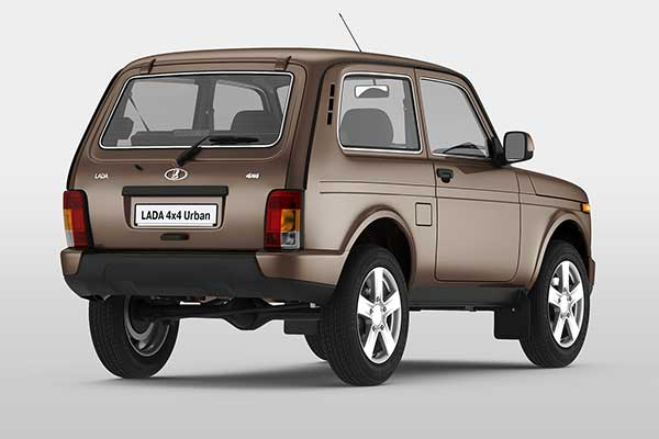 Remember This Russian SUV Lada Niva? It Has Been Upgraded