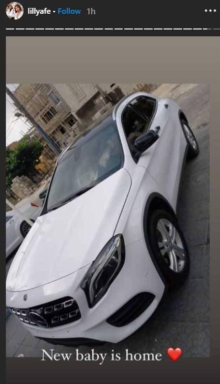 Lilly Afegbai Mercedes benz gla 250