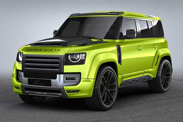 Lumma Design Showcases Wide-body Land Rover Defender