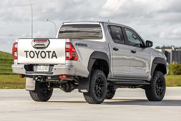 Toyota Launches Mako Edition Of The Hilux Pickup Truck