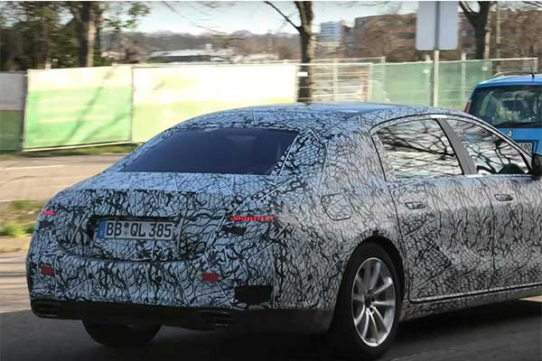 Latest 2022 Mercedes-Benz S73e AMG With 805hp Spied