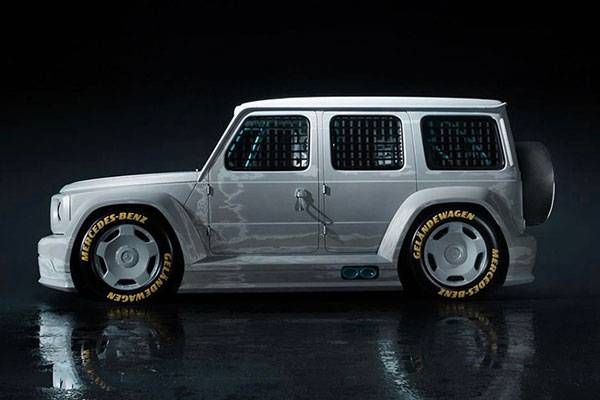Mercedes-Benz Creates G-Wagon Race Car In Partnership With Abloh