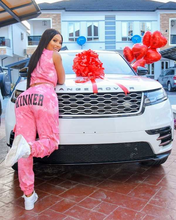 mercy-eke-gifts-herself-range-rover-velar-for-birthday
