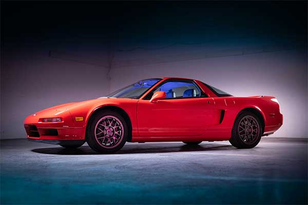 Limited Edition 1999 Acura NSX Is Costlier Than A Bentley GT
