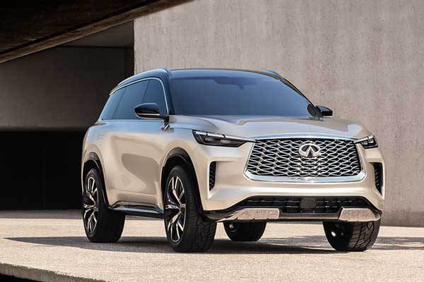 Infiniti Teases QX60 Monograph Concept, Gives A Glimpse Of The Future