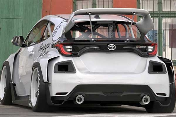 Rocket Bunny Kit Toyota GR Yaris Is The Most Radical Model Yet
