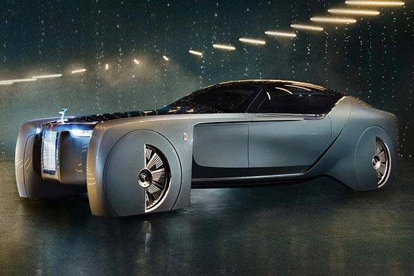 Check Out This Fantastic First-ever Electric Rolls-Royce, It's Called Silent Shadow