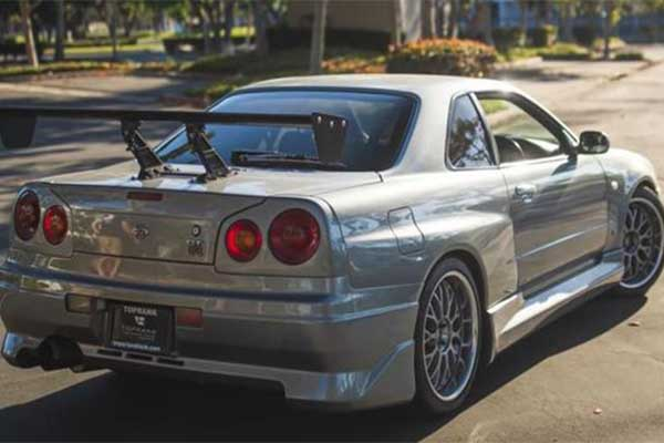Nissan Skyline GTR Owned By Paul Walker Costs As Much As A Phantom