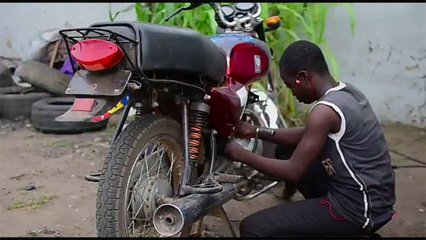 Meet Tosin Atoyebi: The 16 Years Old Girl Who Repairs Motorcycles And Generators For A Living