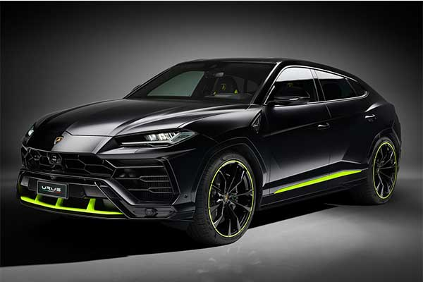 Lamborghini Upgrades Urus For 2021, Adds Graphite Capsule Package
