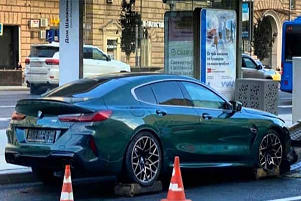 Rare BMW M8 Grand Coupe First Edition Destroyed In An Accident