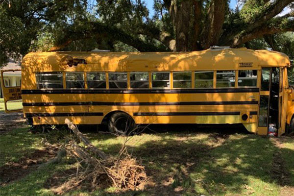 11-year-old Stole And Drove Off A School Bus, Arrested By Police In Louisiana