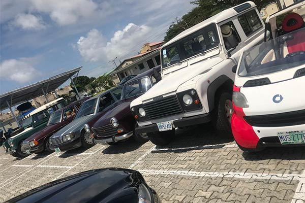 2020 Independence Day Drive Held In Lagos By Car Enthusiasts
