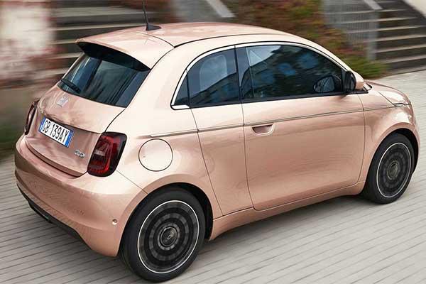 Fiat Launches 3+1 Door 500 Mini Electric Hatchback Vehicle