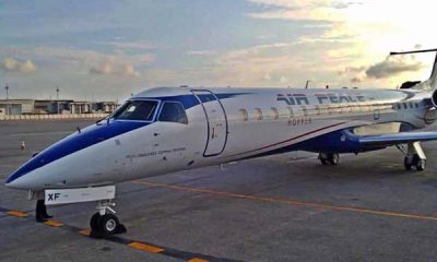 Air Peace acquires an Embraer ERJ-145 Jet