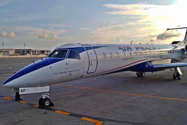 Air Peace acquires an Embraer ERJ-145 Jet