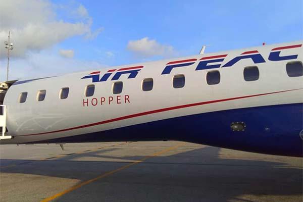 Air Peace acquires Embraer ERJ-145 Jet
