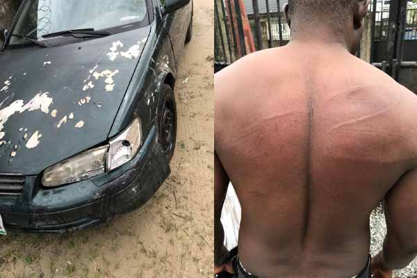 Vanguard Reporter Reportedly Attacked By Police In Delta, Damaged His Car (Photos)-autojosh