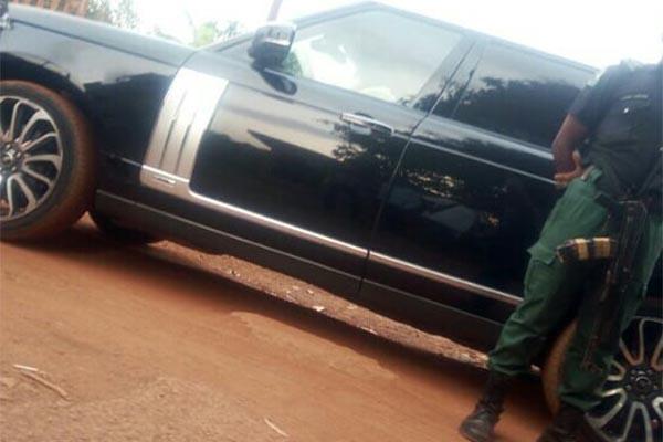 Bulletproof Range Rover SUV, Official Vehicle Of Enugu State Governor, Ugwuanyi