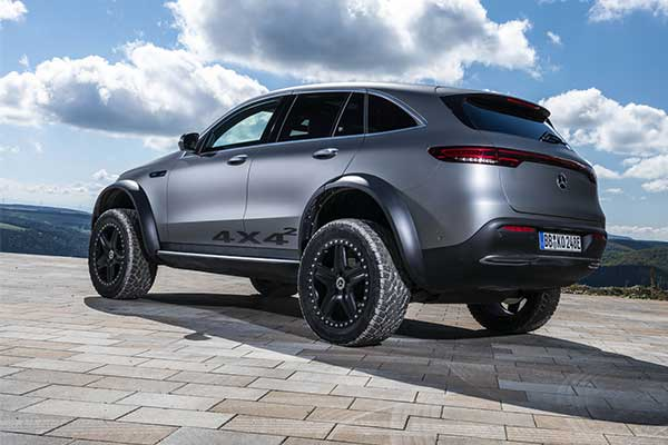 Mercedes-Benz Showcases EQC 4×4² Concept And It's Great
