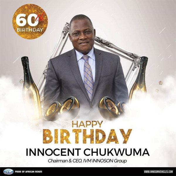 Innocent Chukwuma, the Innoson founder autojosh