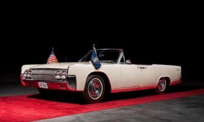"""1963 Lincoln """"Limo One"""" that carried John F Kennedy 'JFK' the day he was assassinated just sold at auction-autojosh"""