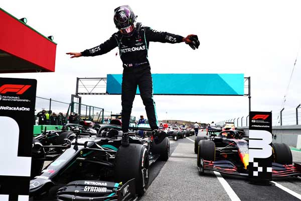 Lewis Hamilton Breaks Michael Schumacher's 14-Year Record As He Hits 92 Wins In Formula 1