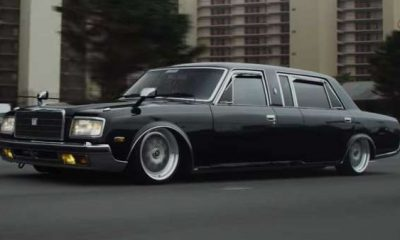 This rare, sinister looking Toyota Century limousine is ready to star in the next mafia movie-autojosh