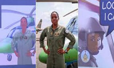 Nigeria's First Female Combat Helicopter Pilot Receives Posthumous Honour-AUTOJOSH