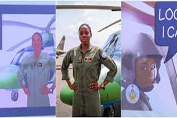 Nigeria's First Female Combat Helicopter Pilot Receives Posthumous Honour-AUTOJOSH