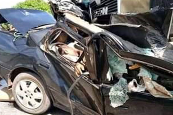 Truck Crushes Lecturer, Wife, Three Children, One Other Lecturer To Death In Benue (PHOTOS)