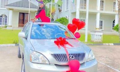 bayelsa-state-female-welder-faith-lesley-buys-lexus-suv-to-celebrate-her-birthday